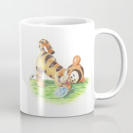 Baby Tigger and Ninja Turtle Coffee Mug