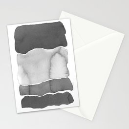 Shades of gray Stationery Cards