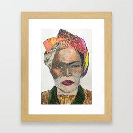 Human 1 Framed Art Print