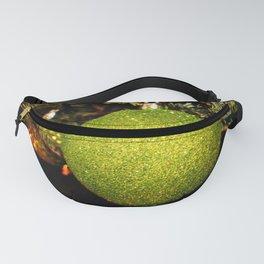 Green Ornament Fanny Pack
