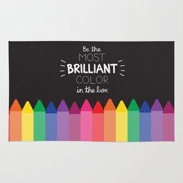 Most Brilliant Color Rug