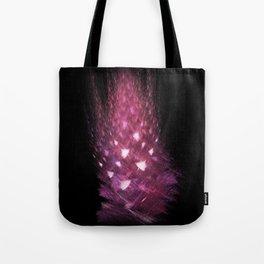 Pink flame Tote Bag