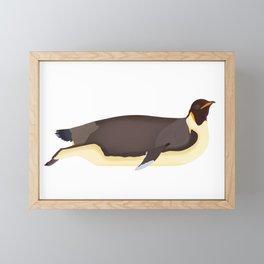 Emperor Penguin Framed Mini Art Print