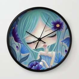 My Blue Heaven Wall Clock