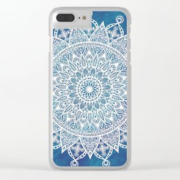 Snowflake Beauty Clear iPhone Case