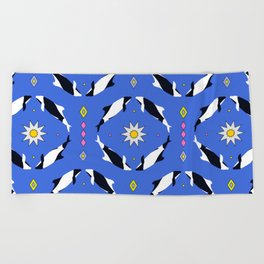 Las Toninas II Beach Towel
