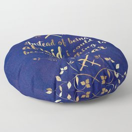 The Cruel Prince Artwork Floor Pillow