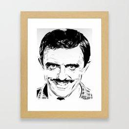 Gomez Addams Framed Art Print