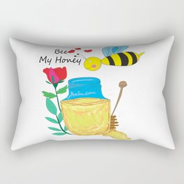 Bee My Honey Rectangular Pillow
