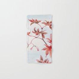 Japanese Maple Leaves Hand & Bath Towel