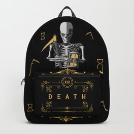 Death XIII Tarot Card Backpack