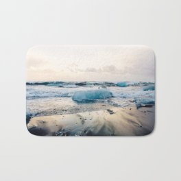 Diamond Beach, Iceland 2 #photography #iceland Bath Mat