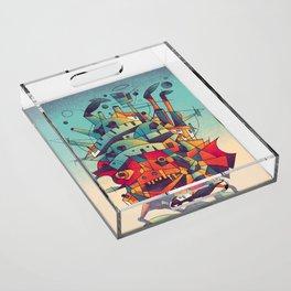 Moving Castle Acrylic Tray