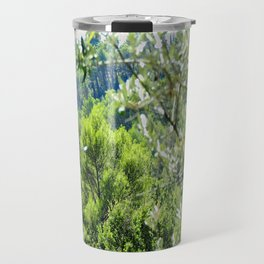 Sunny Green Scenery Travel Mug