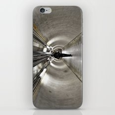 IN A LONDON UNDERGROUND TUNNEL iPhone & iPod Skin