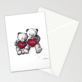 Bear: Valentine's Day Stationery Cards