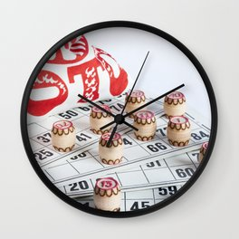 Lotto Wall Clock