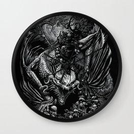 Death Dragon Wall Clock