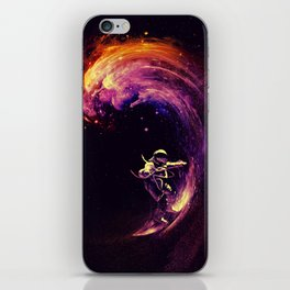 Space Surfing iPhone Skin