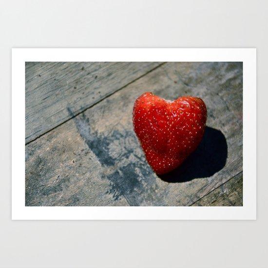 All Of My Heart Art Print
