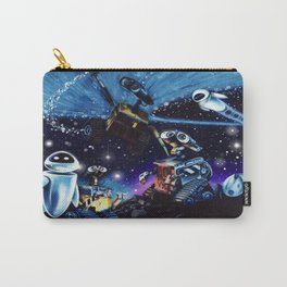 Wall-E Collage Carry-All Pouch