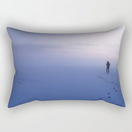 and I'm gonna stay until winter is gone Rectangular Pillow