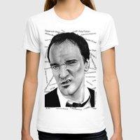 tarantino T-shirts featuring the great Tarantino by Mike Sarda
