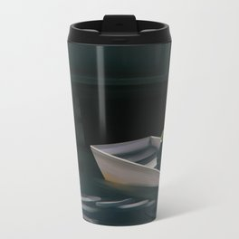 Out in the Cold Metal Travel Mug