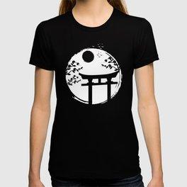 Japan Japanese Sun Temple T-shirt