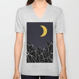 The Moon 2 Unisex V-Neck