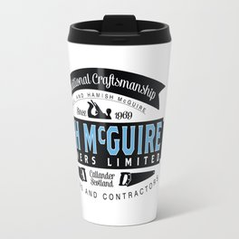 N&H McGuire Joiners Ltd. Travel Mug