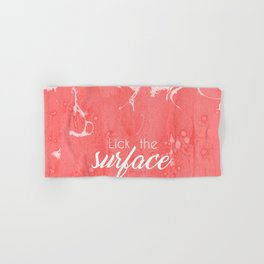 Lick The Surface Hand & Bath Towel