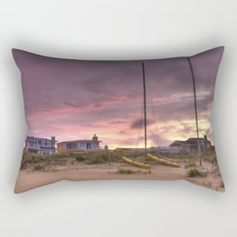 Sunset after Hurricane Florence Rectangular Pillow