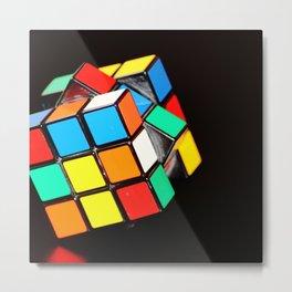 Rubik cube Metal Print