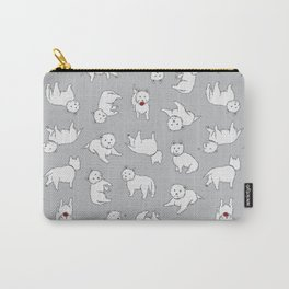 Playful Westies Carry-All Pouch