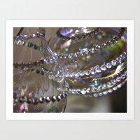 Overlapping Ornaments Art Print