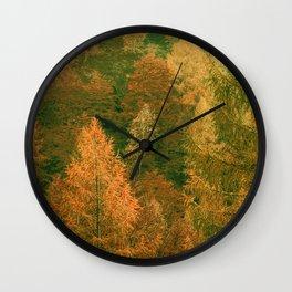 Vintage Forest Artwork Wall Clock