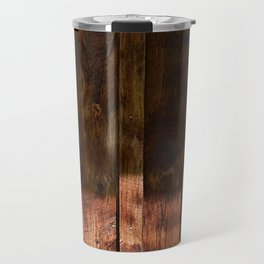 Barnwood Texture Travel Mug