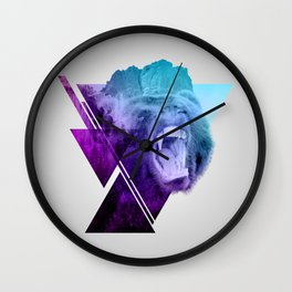 Altitude Growls Wall Clock