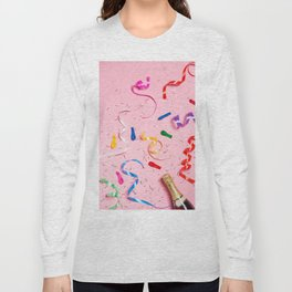 Pink Champagne Party Long Sleeve T-shirt