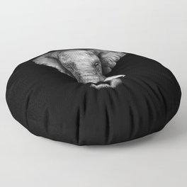 Elephant Head Trophy Floor Pillow