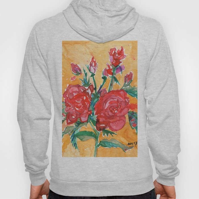 Red Rose Hoody
