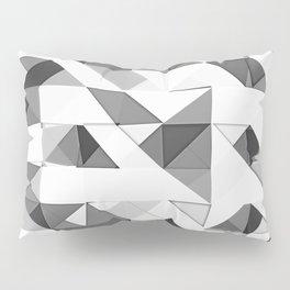 Triangular Deconstructionism Light Mono Pillow Sham