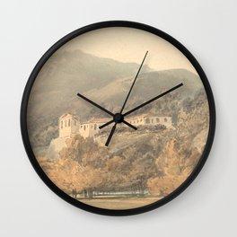 """J.M.W. Turner """"Santa Lucia, A Convent near Caserta"""" Wall Clock"""