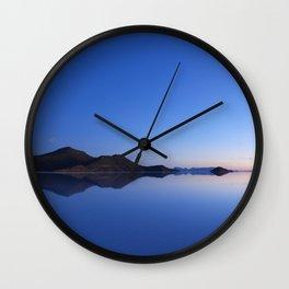 Salar De Uyuni Sunrise 3 Wall Clock