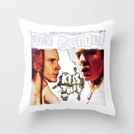 Joe Strummer Throw Pillow