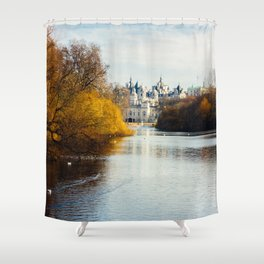 Horse Guards Parade London Shower Curtain