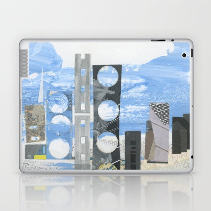 In Between Sea & Sky Laptop & iPad Skin