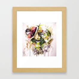 sail.soar. Framed Art Print