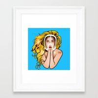 artpop Framed Art Prints featuring ARTPOP by Alli Vanes